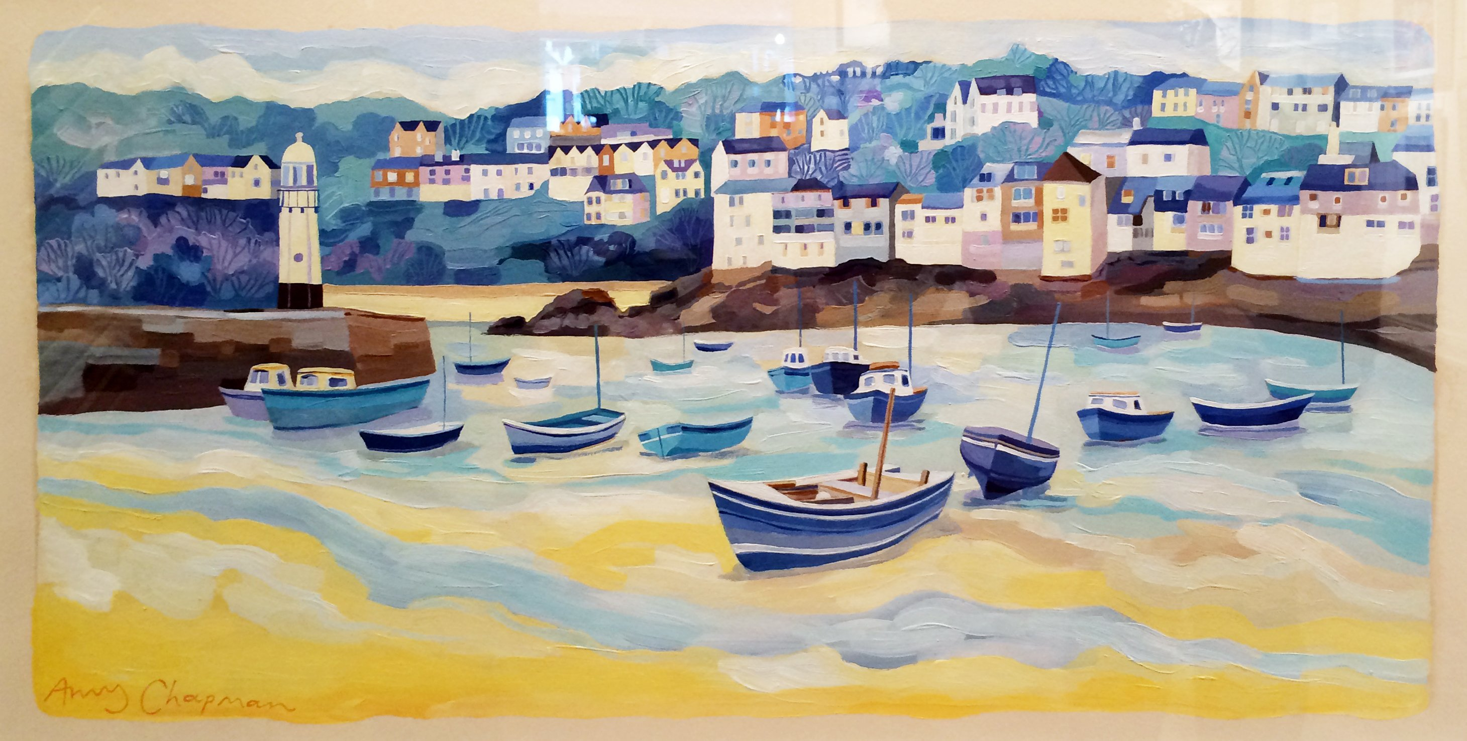 St Ives £895 framed