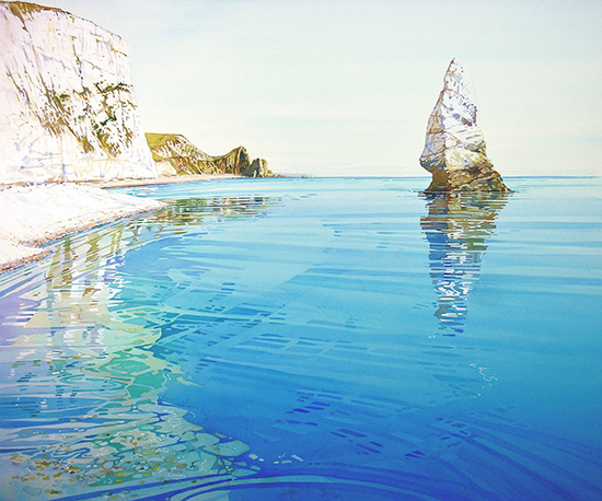 Pinnacle at Durdle Door £185 framed