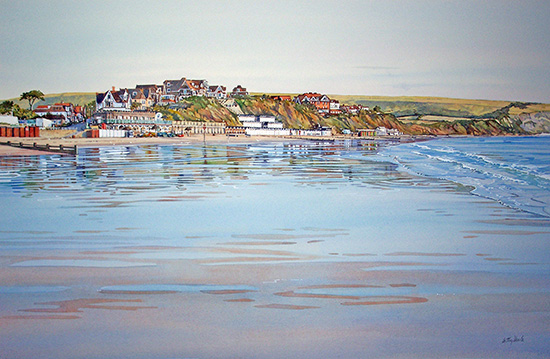 Swanage Beach £120 unframed