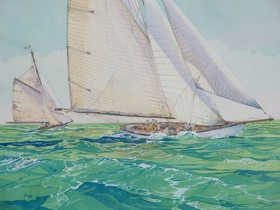 Classic Yachts £95 unframed
