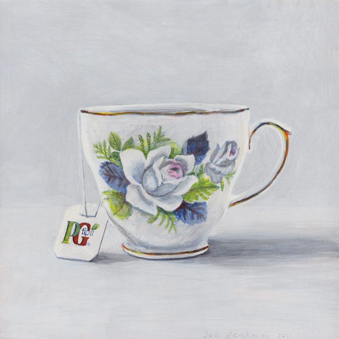 Teacup with PG Tips