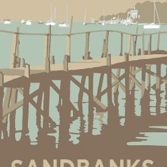 Sandbanks, Evening Hill Pier