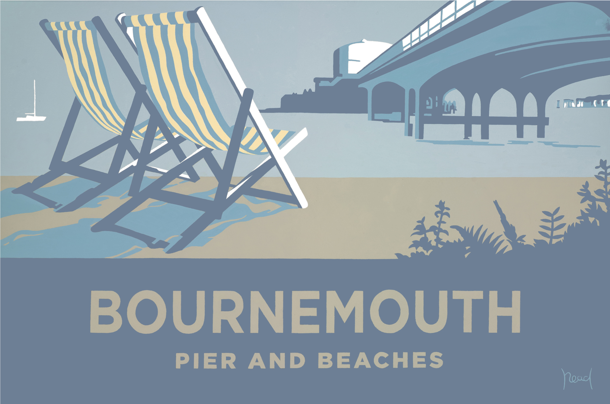 Steve Read Bournemouth Pier and Beaches £240